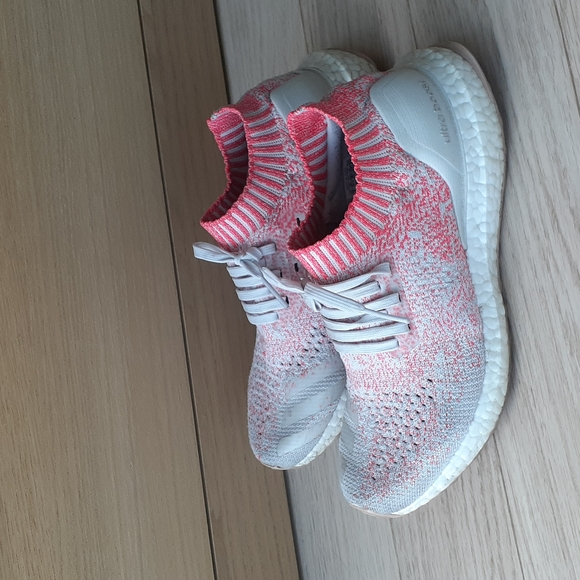 Adidas Ultraboost Uncaged Shoes White/Peach Size 7